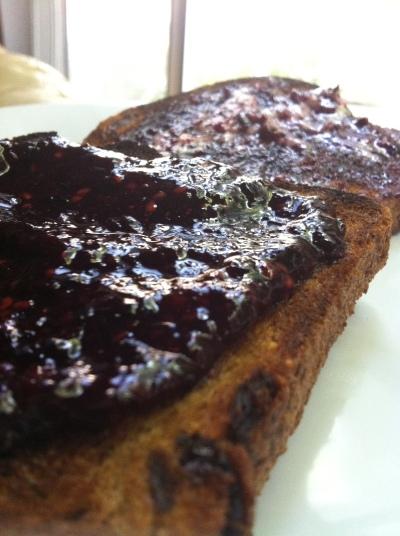 Raw Blueberrry Jam