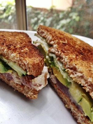 Ahi Avocado Sandwich